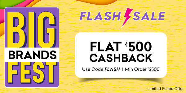 Big Brands Fest - Flash Offer!